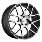 19&#8243; Nurburgring: Machined Gunmetal