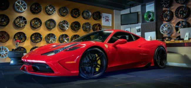 Shoreline Ferrari