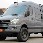 Shoreline_Mercedes_Sprinter_4x4_Squared_PedalBox_Lifted_Van_Compass_Agile_Offroad_Rotiform_Forged_CCV